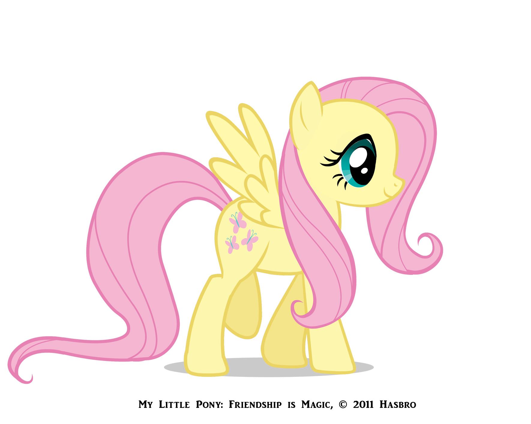 تقرير كامل عن ماي ليتل بوني My little pony fluttershyreference.
