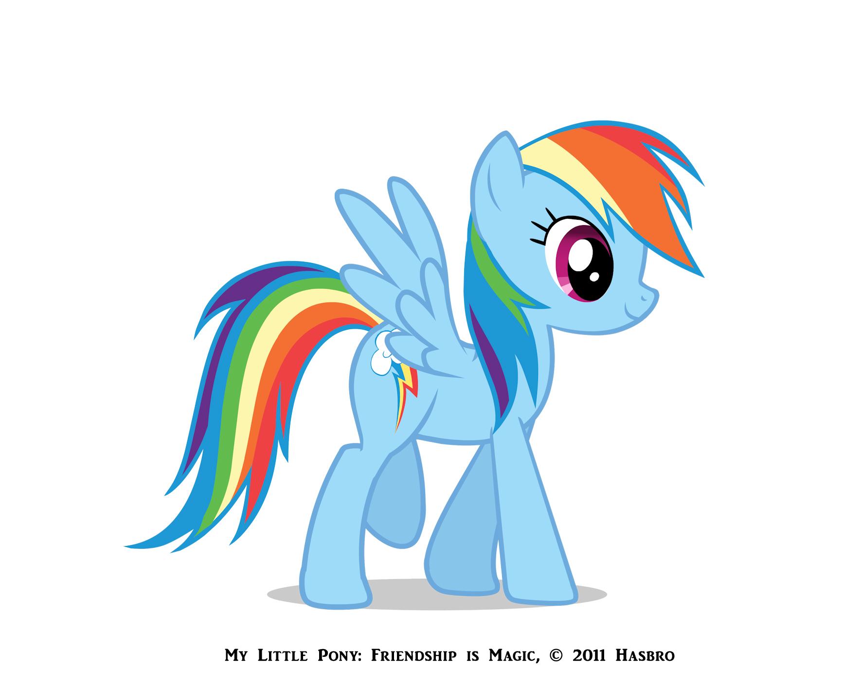 تقرير كامل عن ماي ليتل بوني My little pony rainbowdashreference
